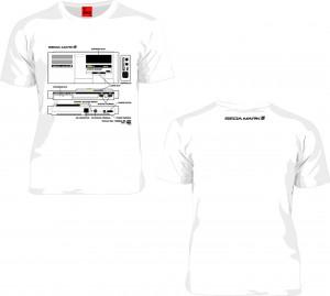 SEGA「マークIII」Tシャツ
